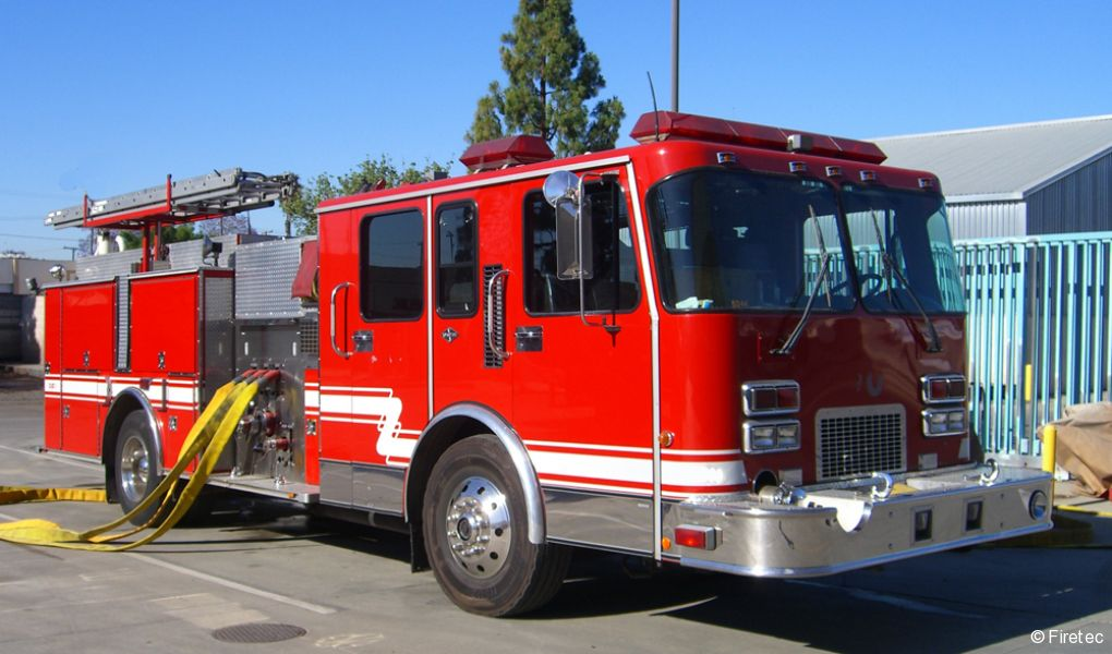 Used Fire Trucks : Fire trucks used for sale at