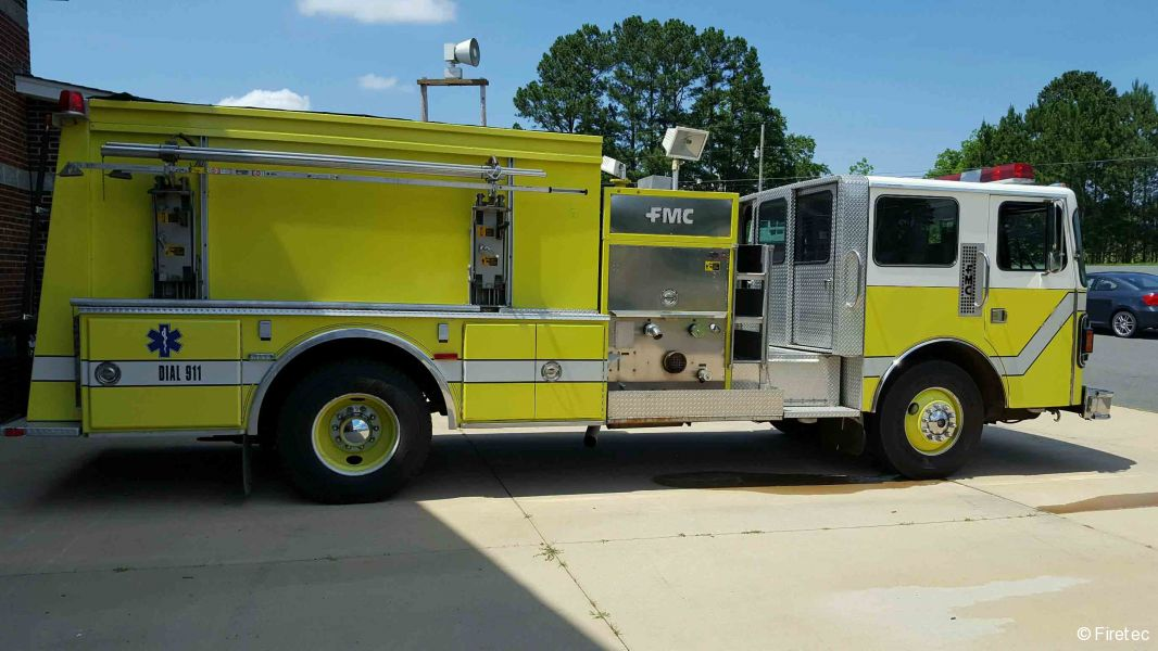 Used Fire Trucks For Sale >> Used Fire Truck 1988 Fmc Pemfab For Sale At Firetec Used