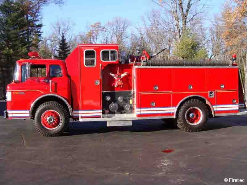 Used Fire Trucks For Sale >> Used Fire Truck 1985 Ford C 8000 For Sale At Firetec Used