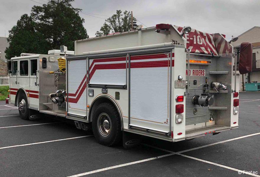 Used Fire Truck  1985 Hahn   Pierce