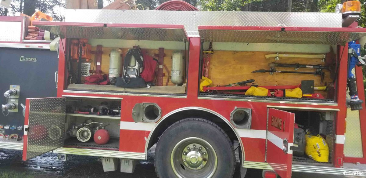 Used Fire Truck  1998 International Central States 4900