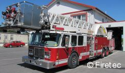 this used platform quint for sale by firetec has a new home with a fire department in new mexico do you have a truck like this 1994 simon duplex lti
