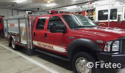 this 4x4 superduty sold fast buyer found quickly and this used mini pumper was on the way to its new fire department within 2 weeks